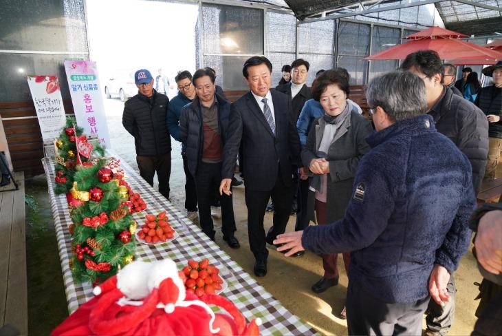 딸기육성품종 현장평가회1.JPG