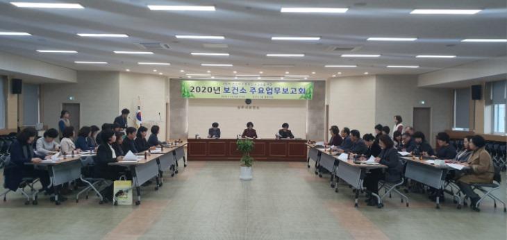 [보건소] 2020년 상주시보건소 업무보고회 개최 - 2.jpg