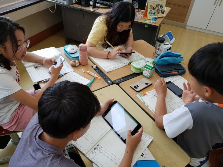 경북교육청 인공지능 활용 초등수학수업 지원 모습.jpg