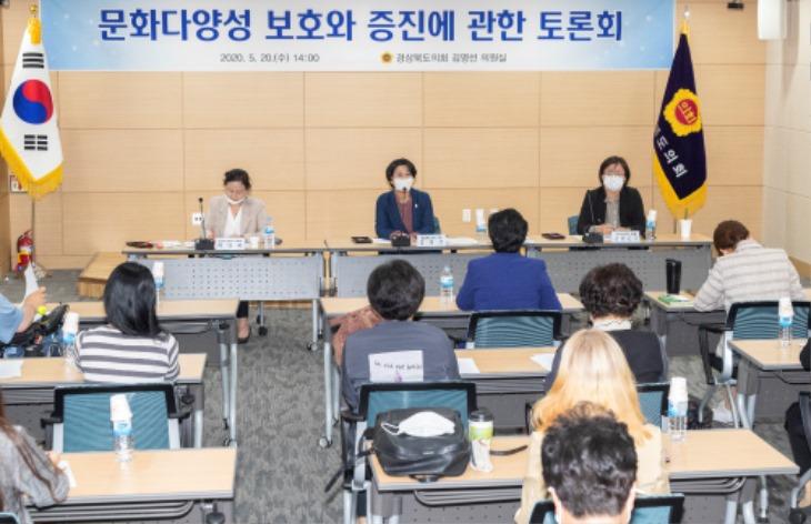 경북도의회 문화다양성 보호와 증진에 관한 토론회.jpg